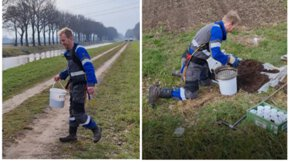The exoskeleton: an ergonomic mouse for field workers