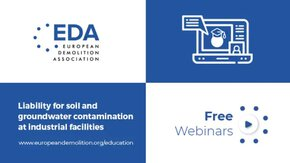 Webinar in collaboration with EDA and Nicole: Liability for soil and groundwater contamination at industrial facilities